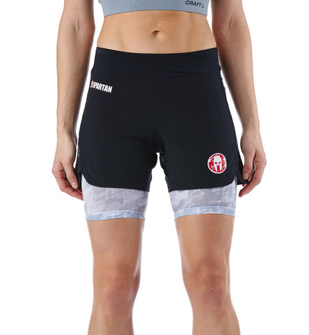 SPARTAN by CRAFT Pro Series 2-in-1 Short - Women's