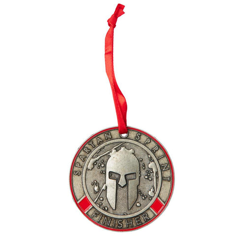 SPARTAN Medal Ornament - Sprint