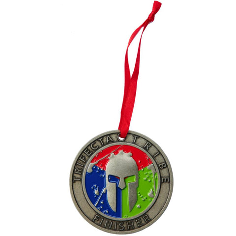 SPARTAN Medal Ornament - Trifecta