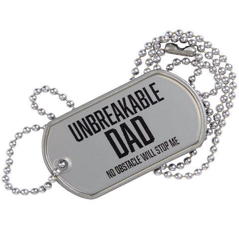 SPARTAN Unbreakable Dad Tag