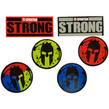 SPARTAN SGX STRONG Stickers - 100pk