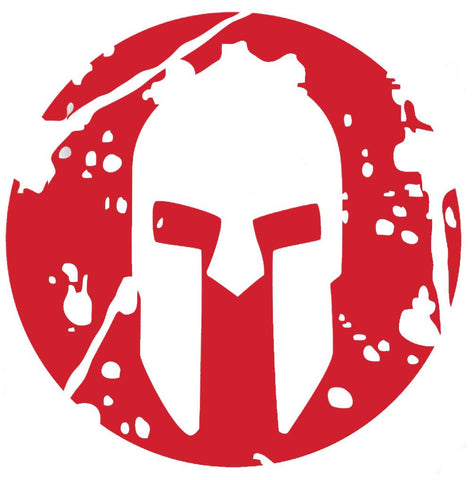 SPARTAN Sprint Vinyl Sticker