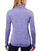 SPARTAN by CRAFT Sweep Grid Turtleneck Top - Women's