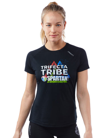 SPARTAN by CRAFT 2019 Trifecta Tee - Women's