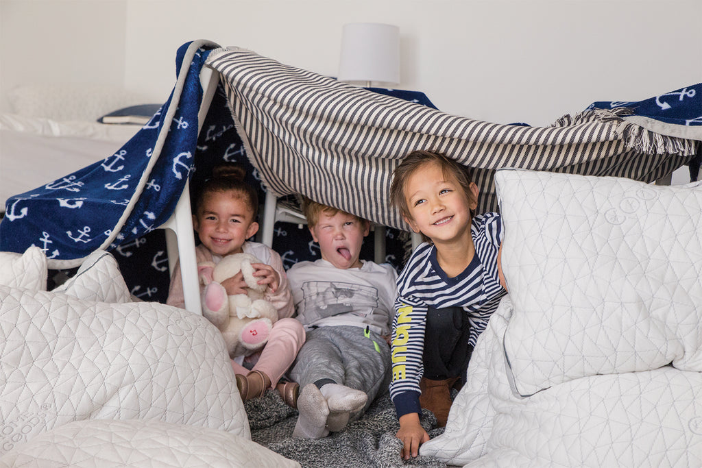 Kids in Pillow Fort