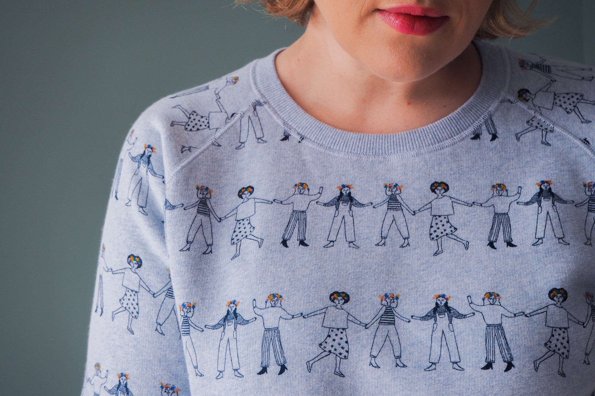 Paper Dolls Sweatshirt