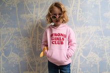 Strong Little Girls Club Pink Hoodie