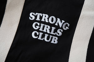 Black Strong Girls Club Gym Weekend Bag