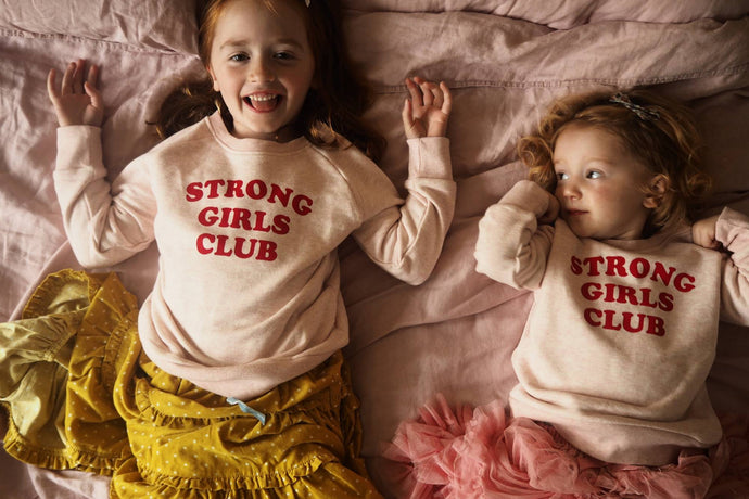 STRONG.LITTLE.GIRLS.SWEATSHIRT