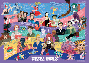 Rebel Girls Puzzle -500 Piece