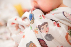 Iconic Women Swaddle Muslin
