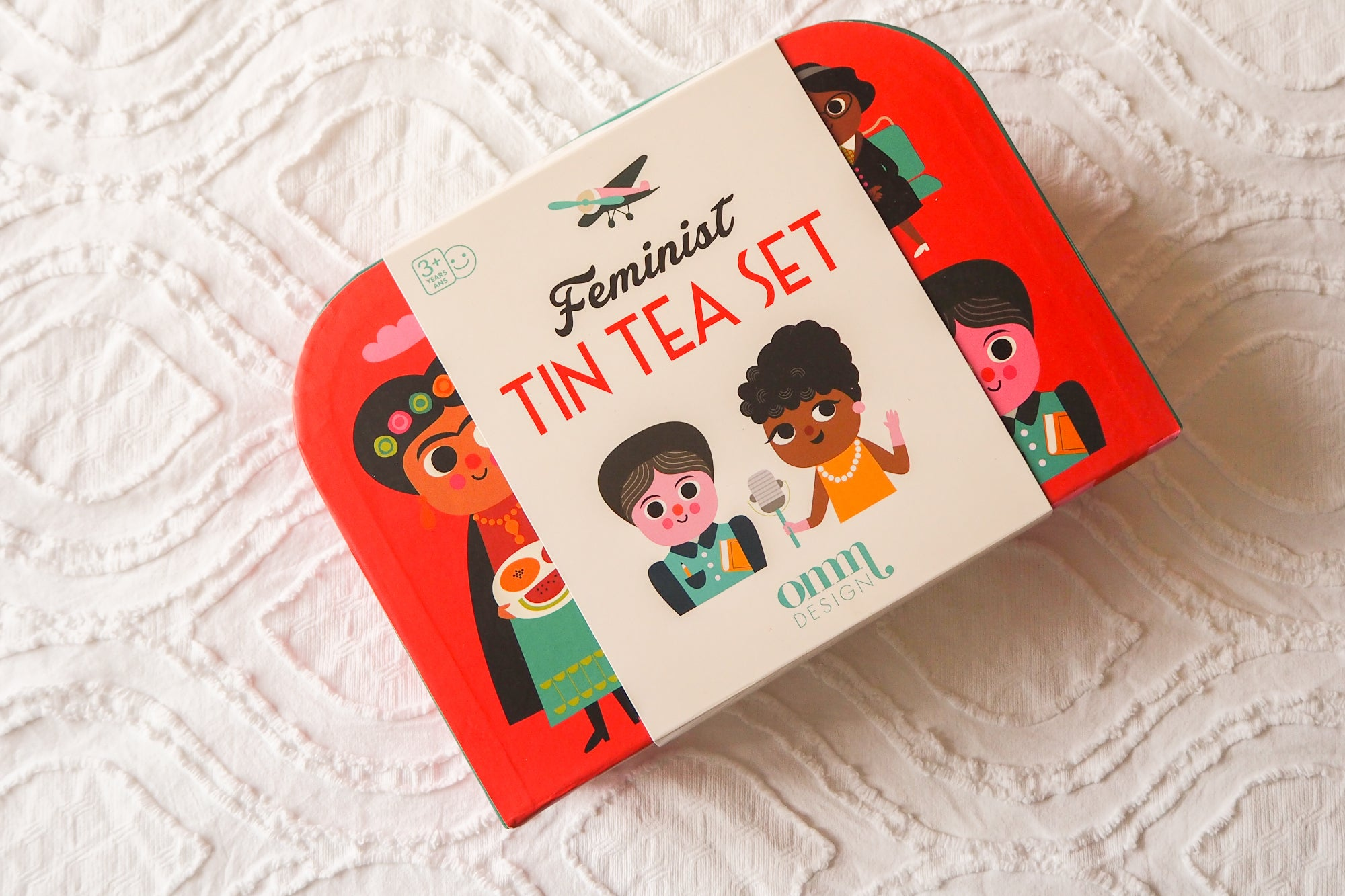 Feminist Icons Tea Set - OMM Design