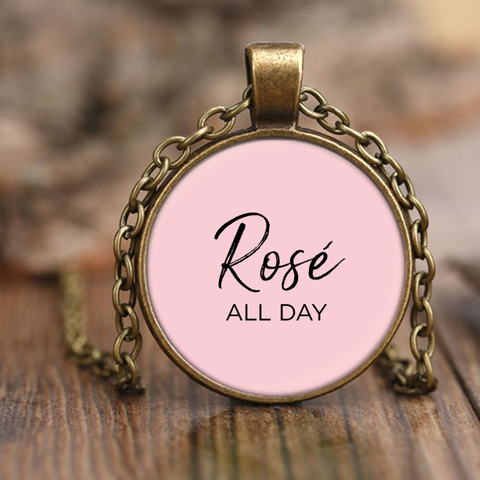 Rosé All Day Pendant Necklace