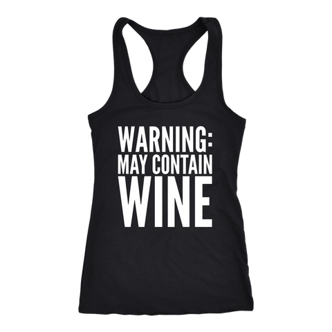 Warning May Contain Wine Tank