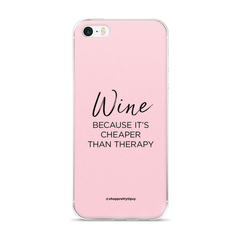 Wine Therapy iPhone Case (5 & 6 models)