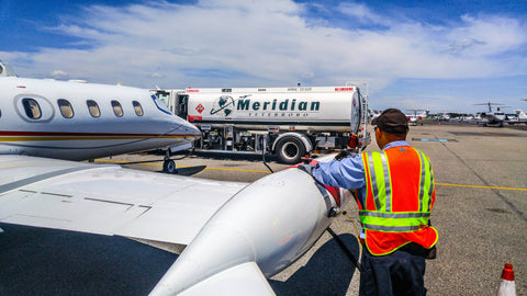 Refueler Meridian Teterboro eagleview display fbo jet fuel TEB