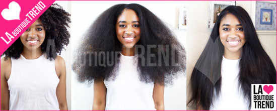 Lisseur Infrarouge pour cheveux afro