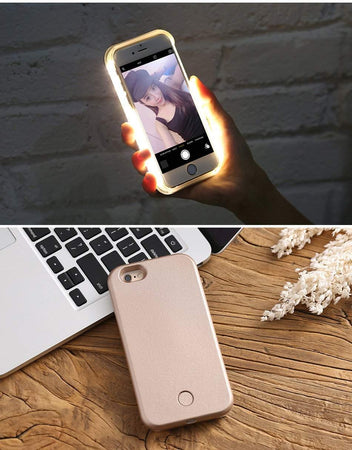 Coque Selfie LED Flash Light