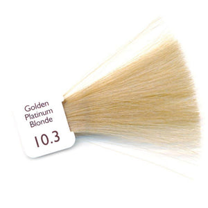 Natulique Organic Hair Colour - 10.3 Golden Platinum Blonde
