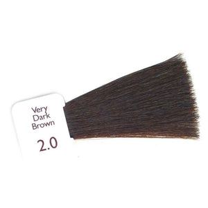 Natulique Organic Hair Colour -  2.0 Very Dark Brown