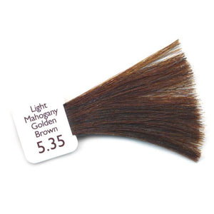 Natulique Organic Hair Colour - 5.35 Light Mahogany Golden Brown