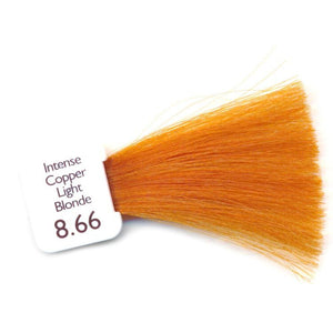 Natulique Organic Hair Colour - 8.66 Intense Copper Light Blonde