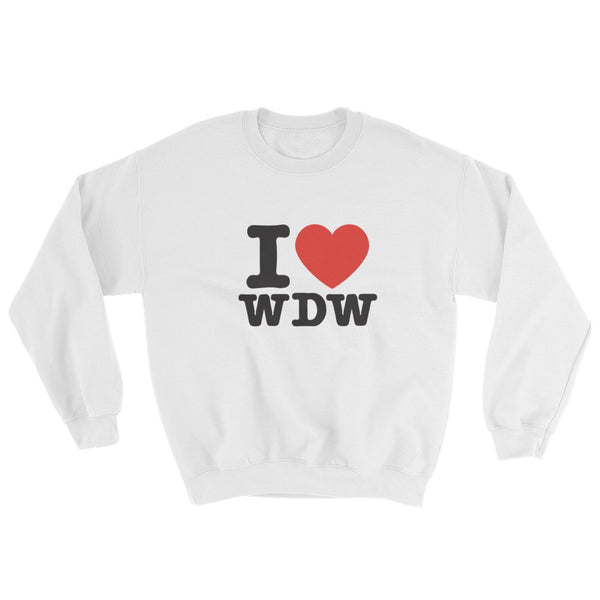 I HEART WDW Sweatshirt