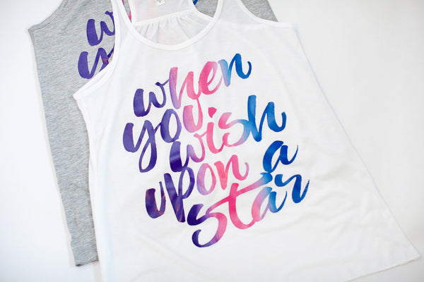 """When You Wish Upon A Star"" Tank"