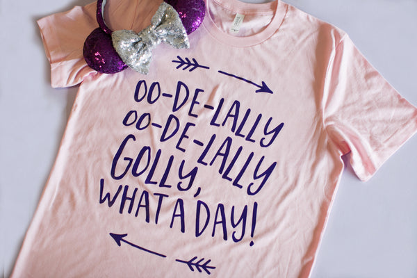 PINK! Robin Hood Oo-De-Lally Oo-De-Lally Golly, What A Day! Crew Neck