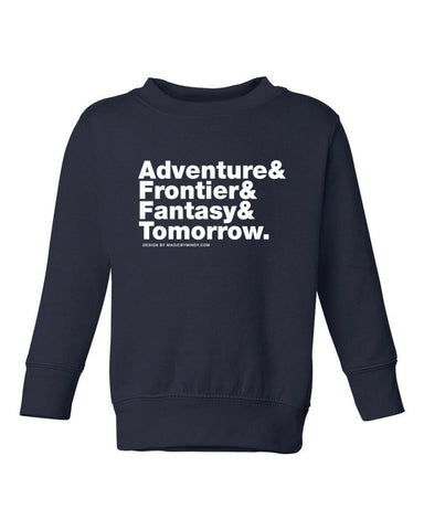 "Magic Kingdom ""Lands"" Sweatshirt KIDS"