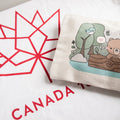 Canada's 150th Birthday with Cute Beaver and Bear Zippered Pouches #Canada150