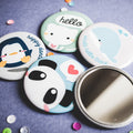 Celebrate Our Launch - Free Cute Pocket Mirror Gift with Purchase