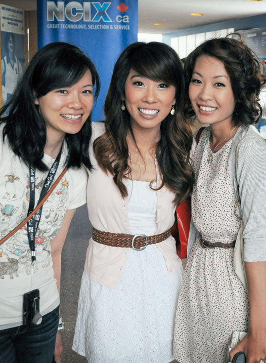 M&S with Christine Chen of Wong Fu Productions
