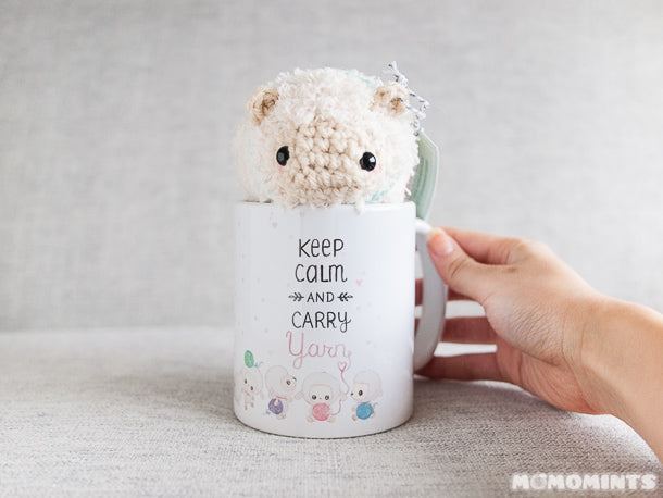 Momomints Fluufie the Sheep with The Lambert Collection Mug