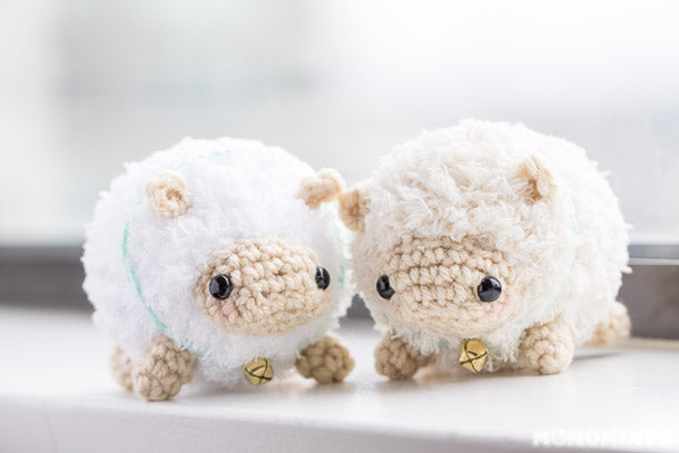 Fluufie the Amigurumi Sheep Couple