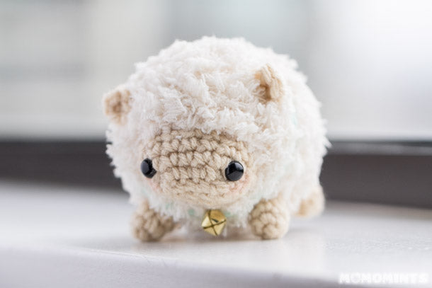 Fluufie the Amigurumi Sheep Front View