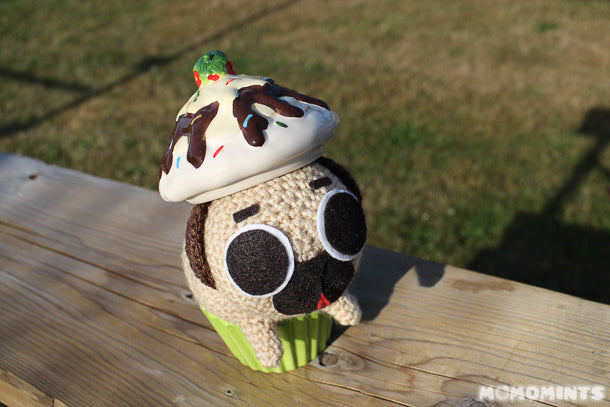 Puglie the Pug Decides to be a Cupcake