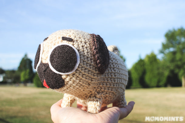 Our Most Detailed Custom Commisioned Amigurumi Stuffed Toy - Puglie