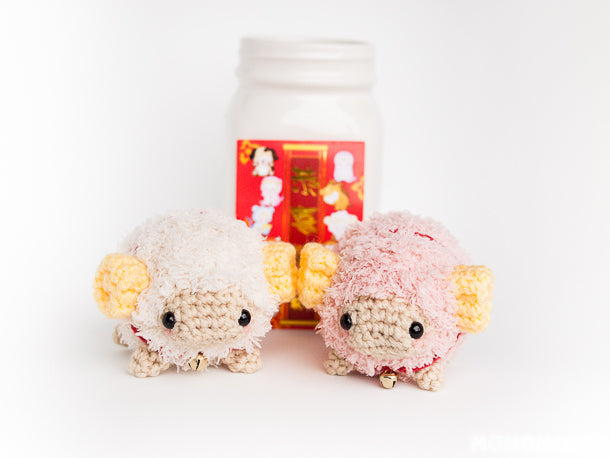 Momomints Chinese New Year 2015 Limited Edition Ram Sheep Momofluufie Couple Set