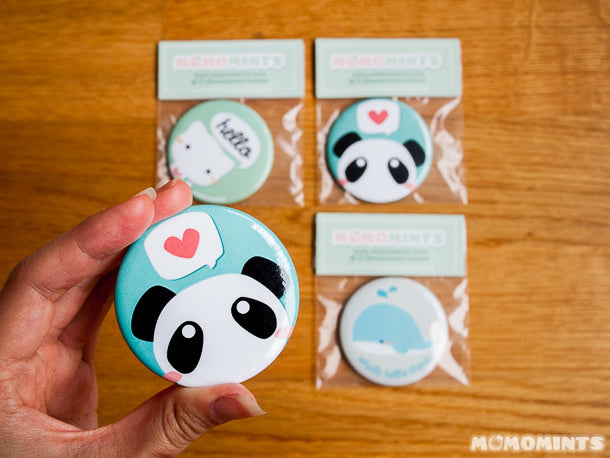 New Momomints Pocket Mirrors perfect for Back to School