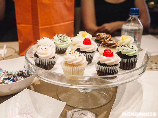 Etsy Vancouver Craft Party - Mini Cupcakes by Butter Baked Goods