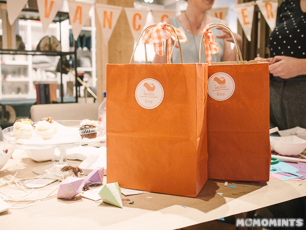 Etsy Vancouver Craft Party 2015 - Goodie Gift Bags