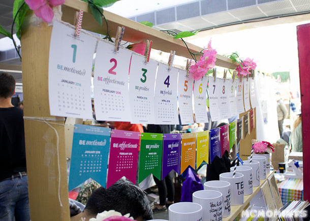 Blushfacegoods at the Etsy Vancouver Made in Canada Market at Robson Square