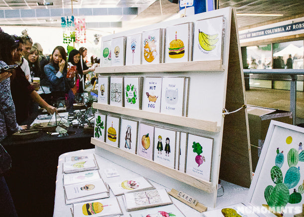 Art+Soul Creative Co at the Etsy Vancouver Made in Canada Market
