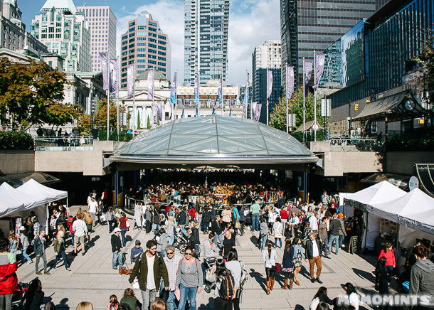 Etsy Vancouver Made in Canada Market at Robson Square, September 2015