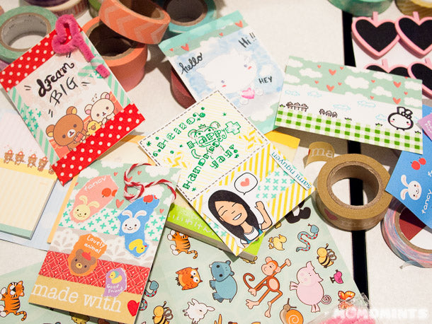 Thanks to Danielle of @whythisbox for introducing us to ATCs!