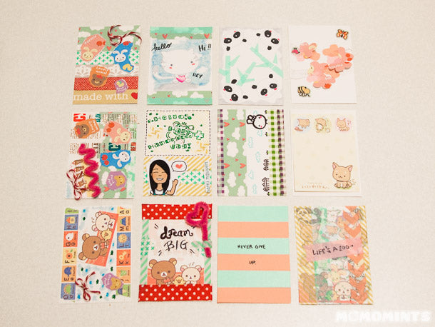 Our finished ATCs