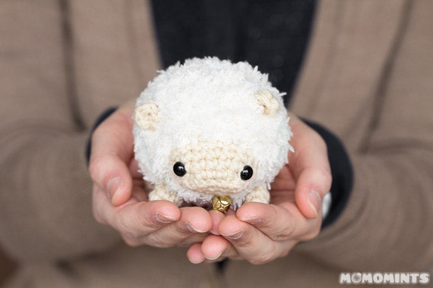 Introducing Fluufie the Amigurumi Sheep