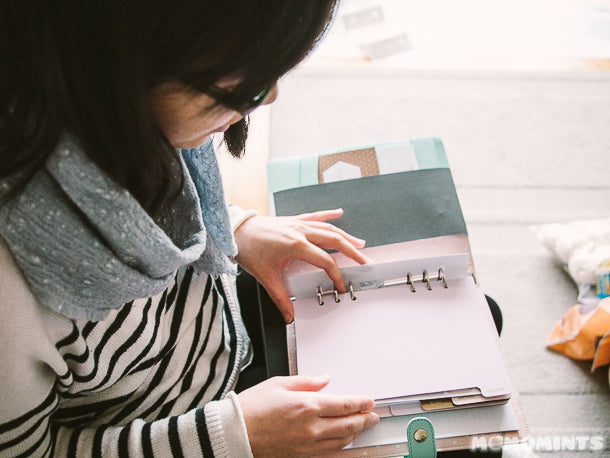 First Look at the Kikki K Mint Large Planner