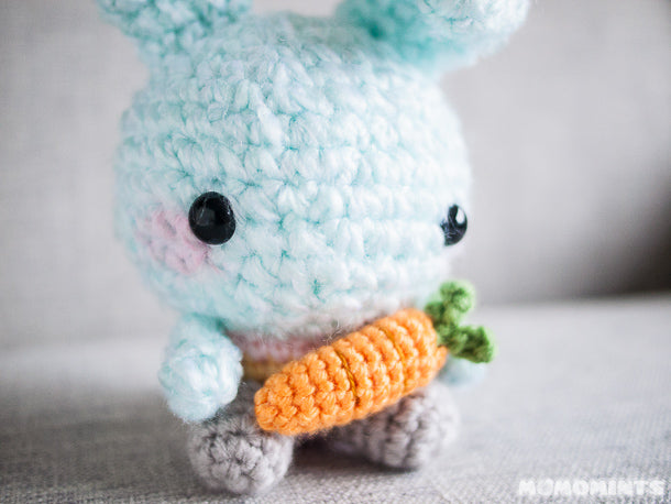 Limited Edition Easter Momobunny with its Carrot